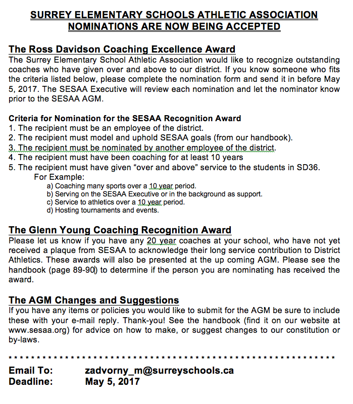 Nominate a deserving coach click here for application form picture thecheapjerseys Gallery